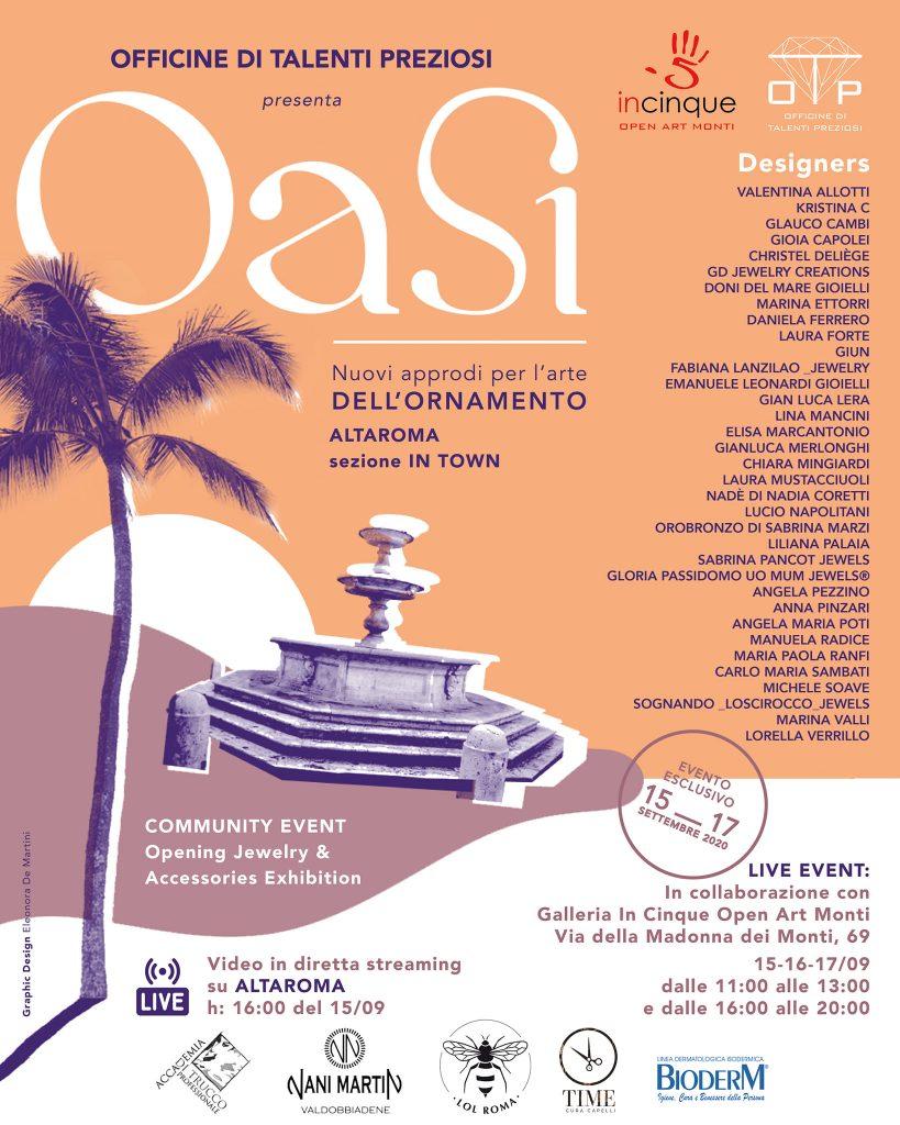OASI Evento Esclusivo - Officine Talenti Preziosi
